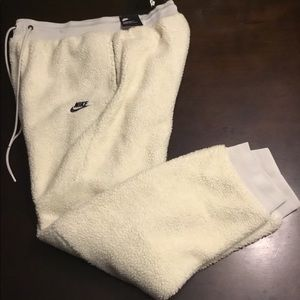 🆕 Nike Tech Icon Sherpa Jogger Pants Men's Size L